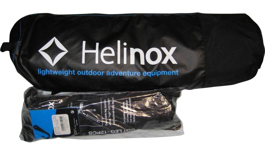 ヘリノックス コットワン クオルツ ライトビームコット 軽量コット比較