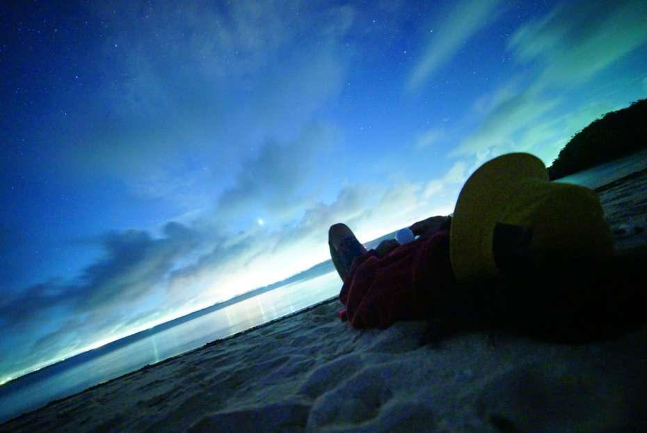 沖縄 無人島 キャンプ ビーチ 浮原島