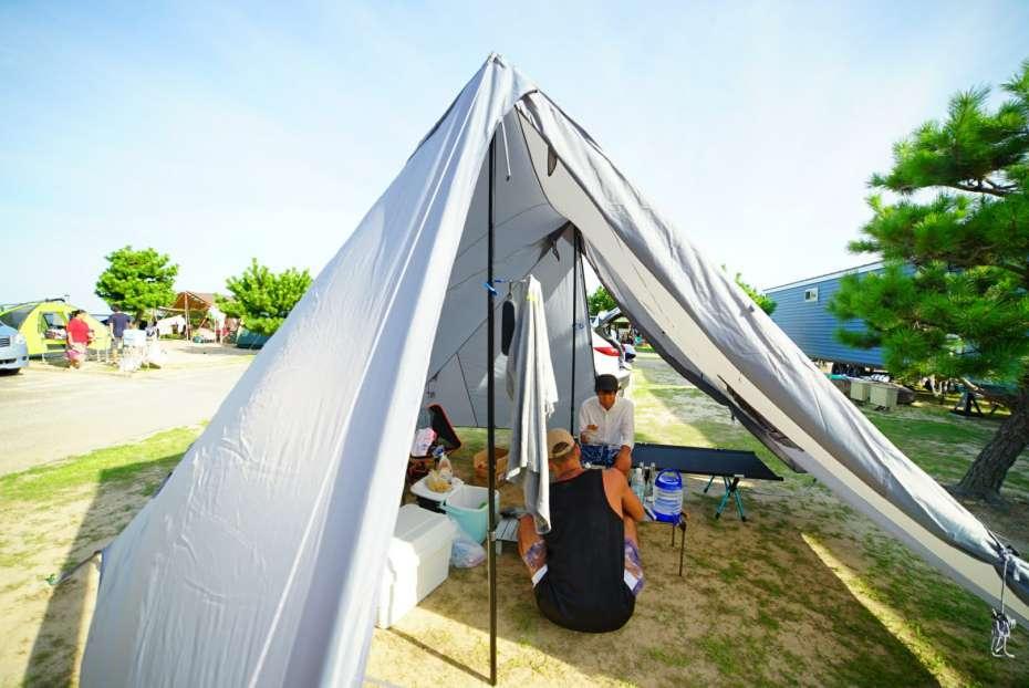 2ポール ツインポール シェルター タープ テント フロアレス 軽量 設営撤収簡単 高い居住性