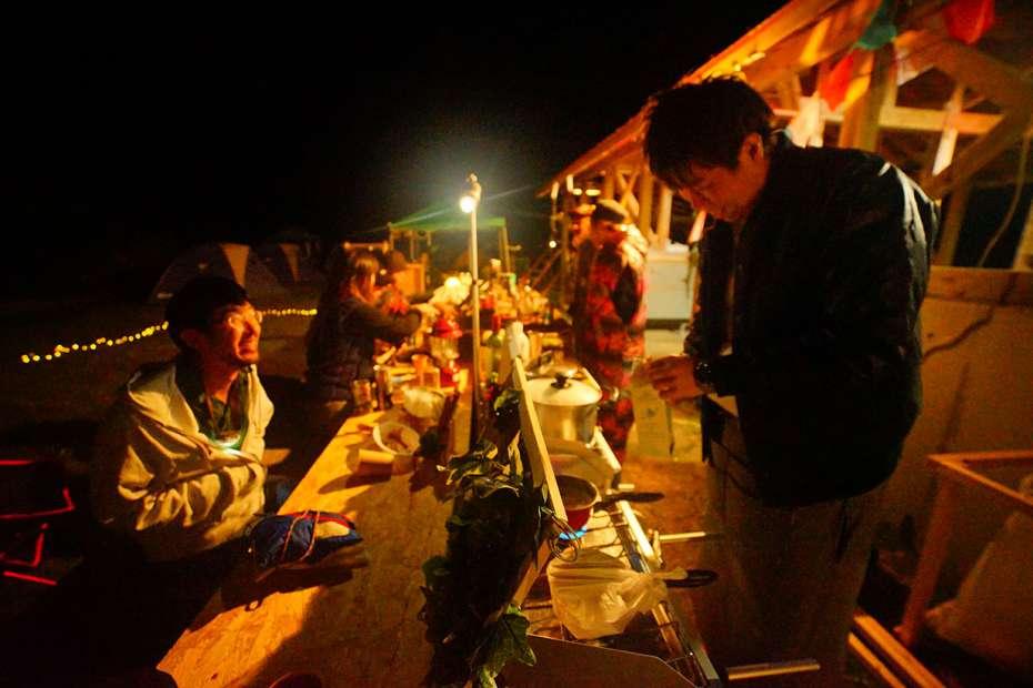 フレンチ フランス料理が食べられるキャンプフェス longstay CAMP 2018 ロングステイキャンプ ギャラリー 関西 キャンプ フェス ミュージック 毛原オートキャンプ場 和歌山