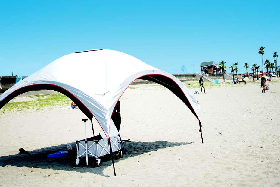 アウトドア キャンプ パーティーシェード サイドウォール コールマン Coleman オプション 海水浴 ビーチタープ ダークルームテクノロジー
