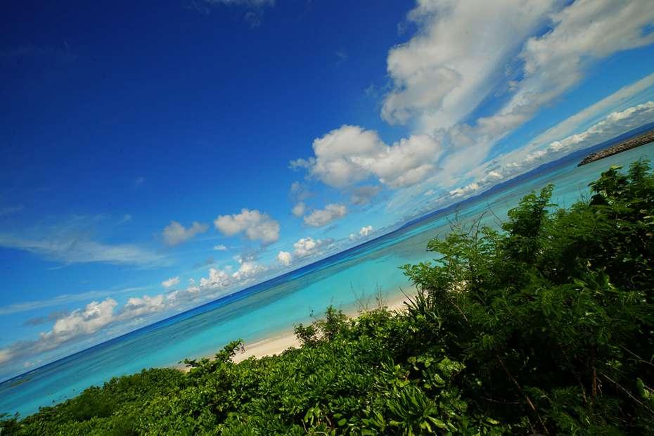 2019年 石垣島 日本一 美しいビーチ 最南端 波照間島 ニシ浜