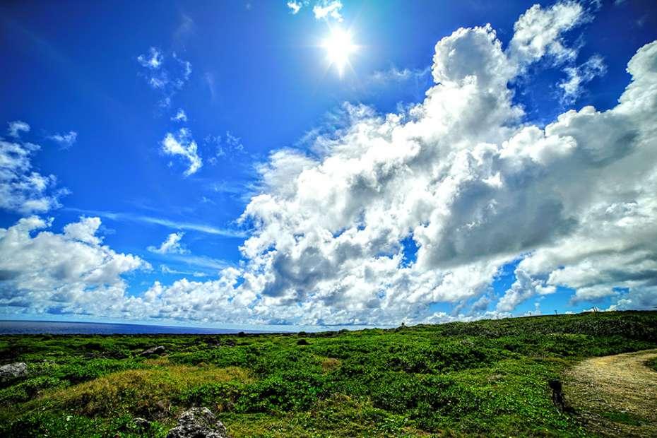 2019年 石垣島 日本一 美しいビーチ 最南端 波照間島 高那崎展望所