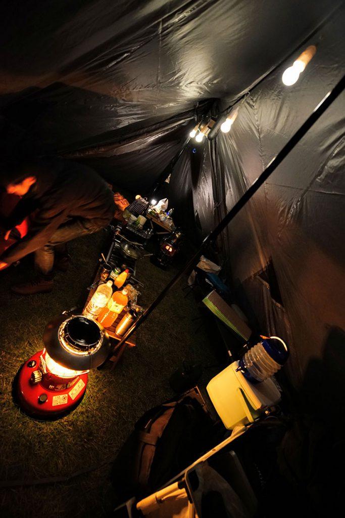 トヨトミレインボーストーブ ランタン型 美しい 炎 虹色 40W白熱球相当 明るい