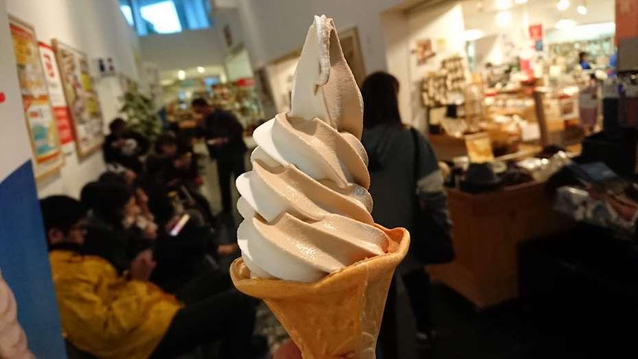 GOOUTCAMP 関西 vol.6 STIHLの森 京都 府民の森ひよしスプリング日吉 ソフトクリーム