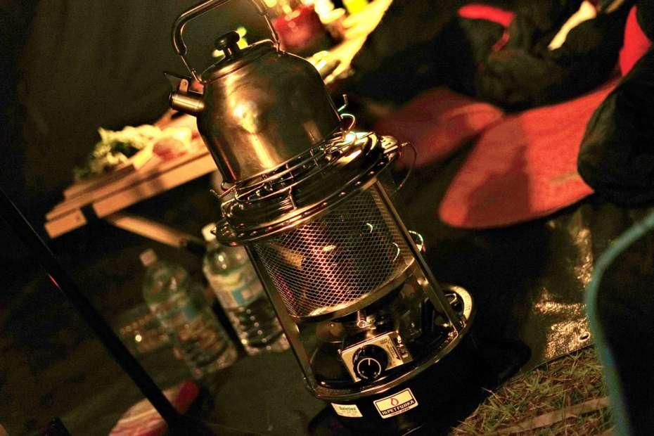 フジカハイペット キャプテンスタッグ 七輪用ゴトク ヤカン 湯沸し 乾燥対策