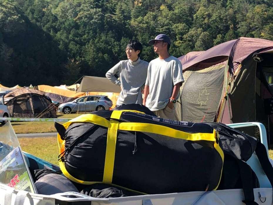 キャンプサイト選び GOOUTCAMP 関西 vol.6 STIHLの森 京都 府民の森ひよし